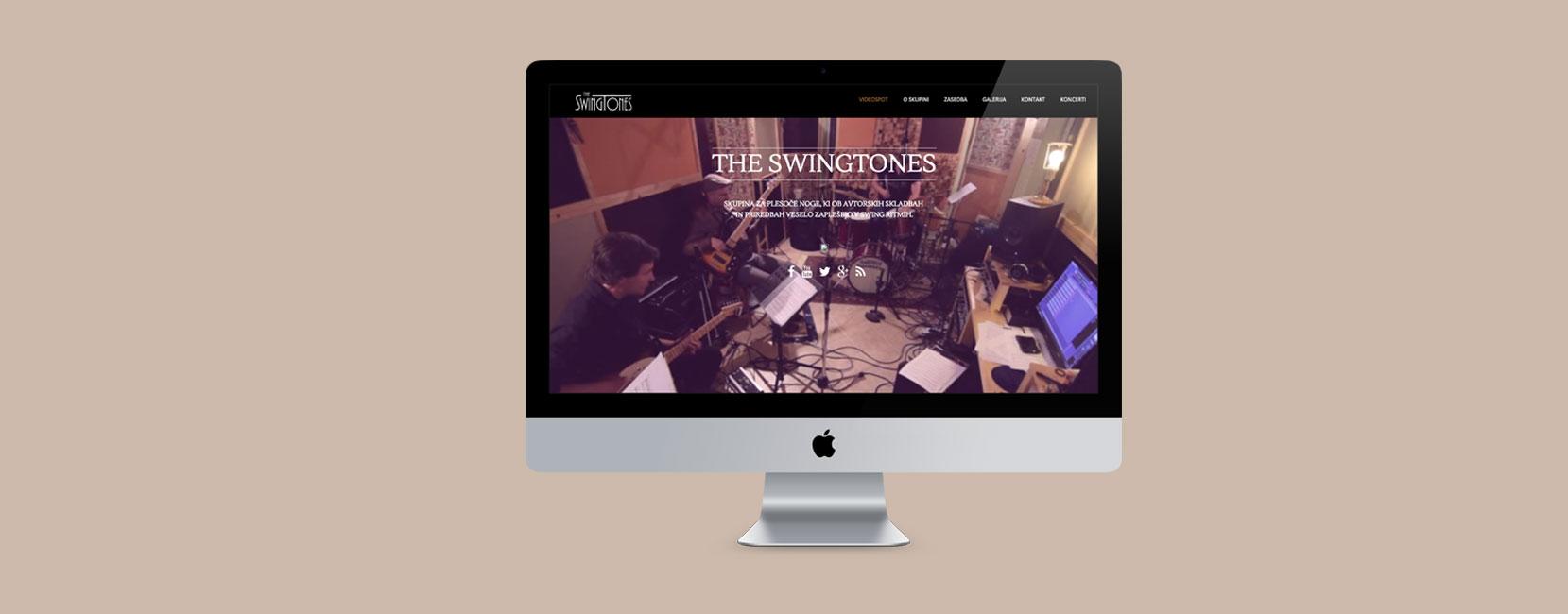 The Swingtones Website